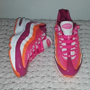 "air max 95 ""pink orange"" size 5.5"